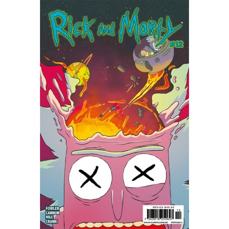 RICK AND MORTY N° 12-A