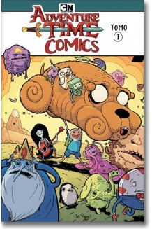 ADVENTURE TIME COMICS TOMO N° 1
