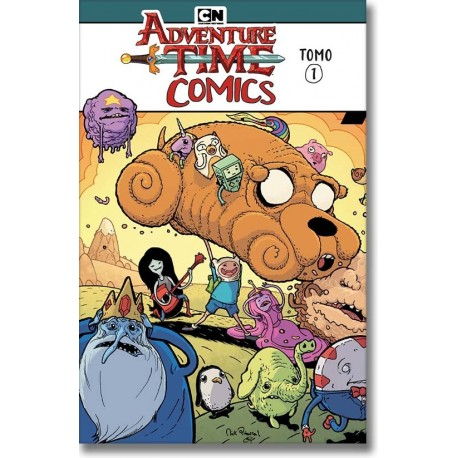 ADVENTURE TIME COMICS TOMO N° 1-A