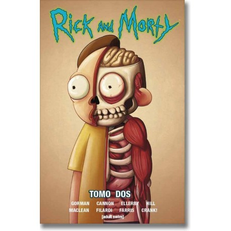 RICK AND MORTY TOMO N°2-A