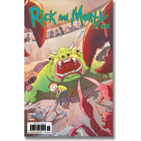 RICK AND MORTY N° 15-A
