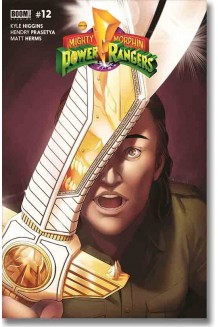 MIGHTY MORPHIN POWER RANGERS N° 12-A
