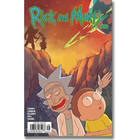 RICK AND MORTY N° 16-A