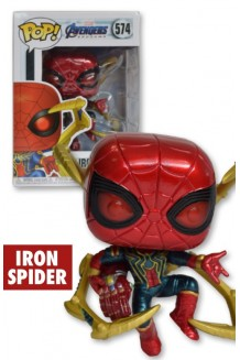 FUNKO POP MARVEL:  ENDGAME - IRON SPIDER W/ NANO GAUNTLET