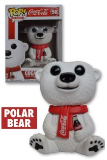 FUNKO POP AD ICONS:  COCA-COLA - POLAR BEAR