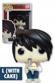 FUNKO POP ANIMTION: DEATH NOTE L (WITH CAKE)