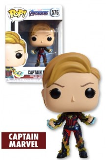 FUNKO POP MARVEL:  ENDGAME - CAPTAIN MARVEL W/ NEW HAIR