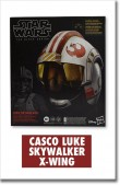 CASCO STAR WARS BLACK SERIES LUKE S, X-WING