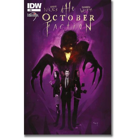 THE OCTOBER FACTION N° 8-A
