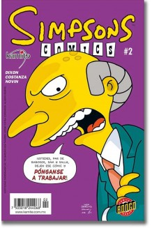 SIMPSONS COMICS N° 2