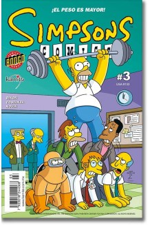 SIMPSONS COMICS N° 3