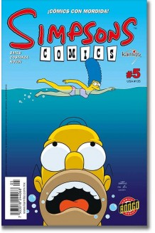 SIMPSONS COMICS N° 5