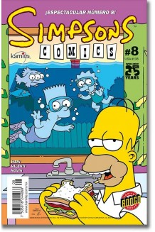 SIMPSONS COMICS N° 8