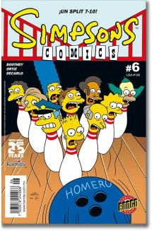SIMPSONS COMICS N° 6