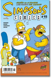 SIMPSONS COMICS N° 15