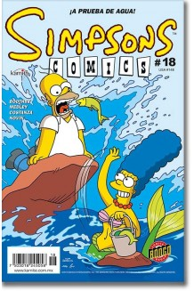 SIMPSONS COMICS N° 18