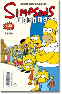 SIMPSONS COMICS N° 20