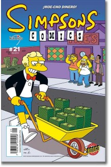 SIMPSONS COMICS N° 21