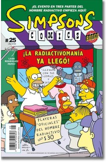 SIMPSONS COMICS N° 25