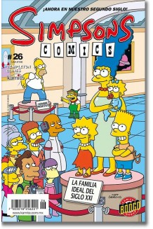 SIMPSONS COMICS N° 26
