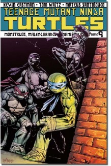 TEENAGE MUTANT NINJA TURTLES TOMO 9