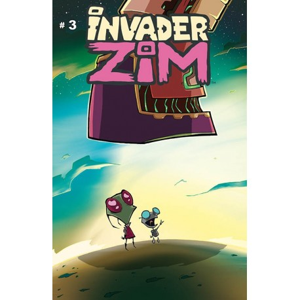 INVADER ZIM N°3-A