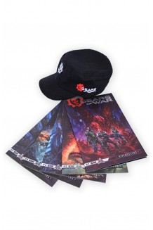 PAQUETE GEARS OF WARS HIVEBUSTERS GORRA
