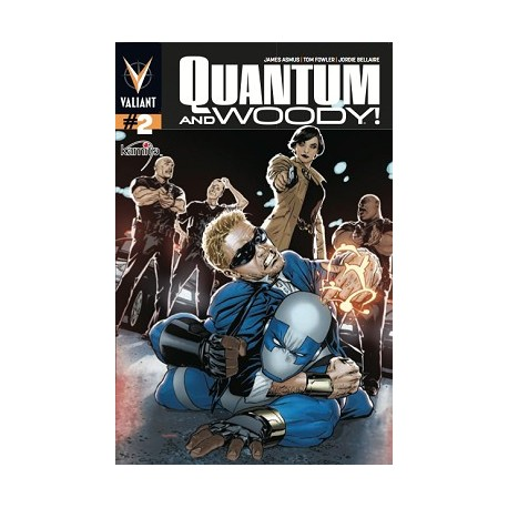 QUANTUM AND WOODY N°2