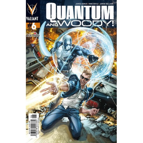 QUANTUM AND WOODY N°6