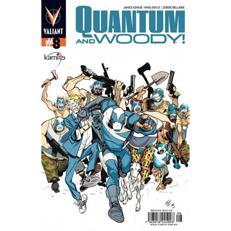 QUANTUM AND WOODY N°8