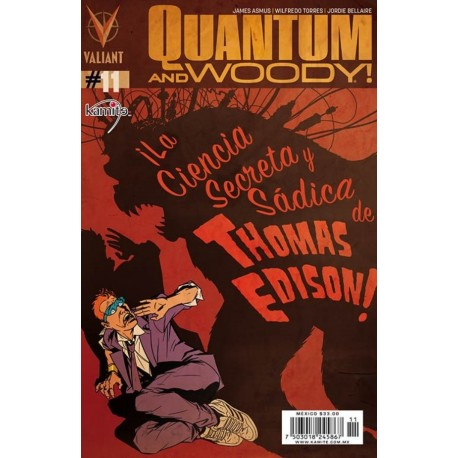 QUANTUM AND WOODY N°11