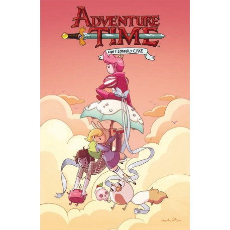ADVENTURE TIME FIONNA Y CAKE