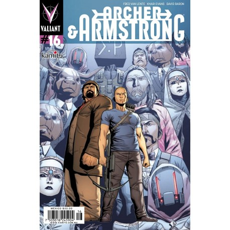 ARCHER AND ARMSTRONG N° 16